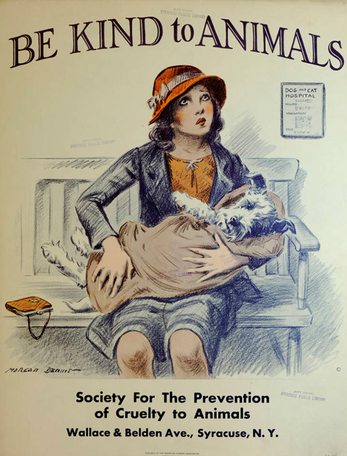 be kind to animals posters great depression morgan dennis3 5c9de7590c501 700