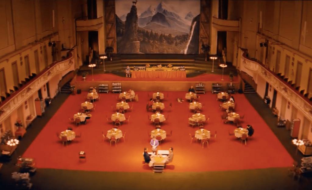 grand budapest lobby