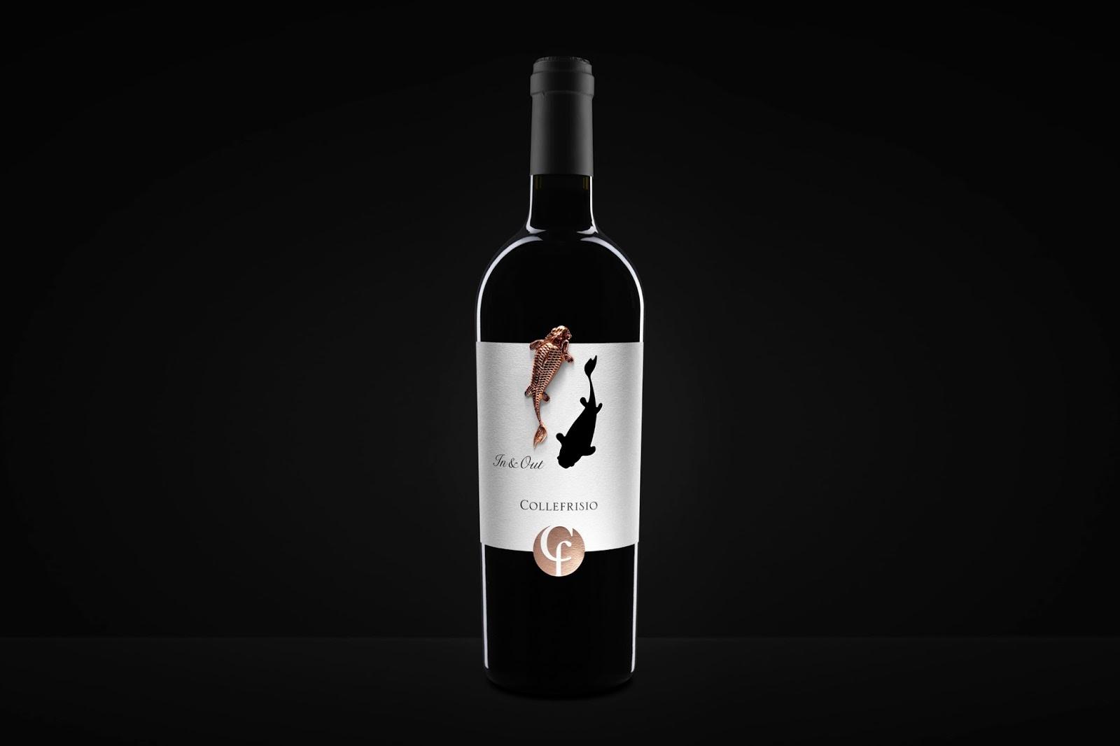 collefrisio spazio di paolo mario packaging wine vinitaly italy 2