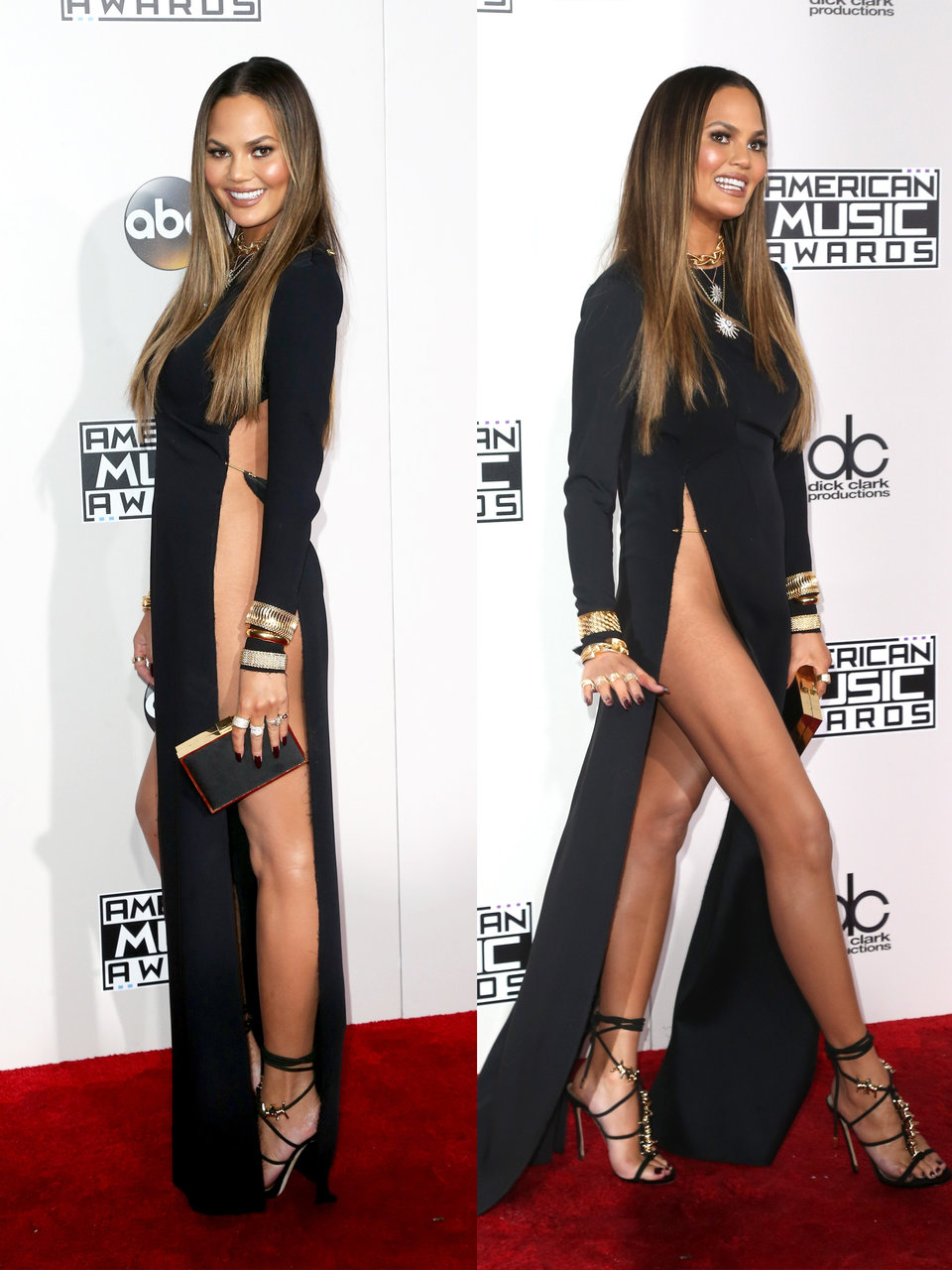 fast forward to the 2016 american music awards and chrissy teigen made waves with her dress held together with a safety pin