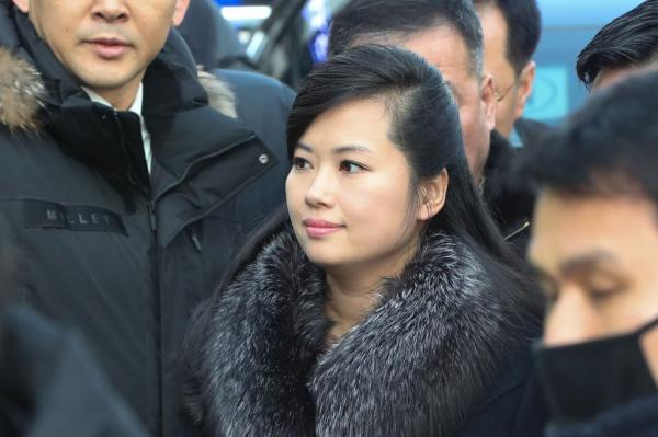 north koreas cultural delegate and pop star hyon song wol under spotlight