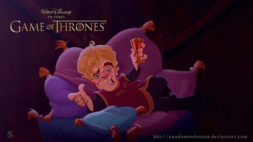 game of thrones disney style illustration combo estudio 8 5aafaa95cd138 880 6