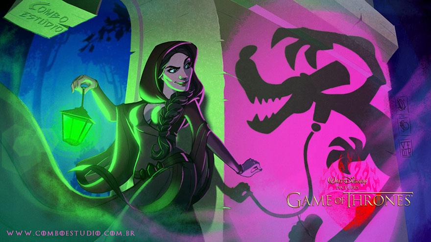 game of thrones disney style illustration combo estudio 8 5aafaa95cd138 880 9