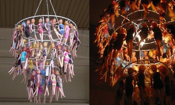 21 barbie dolls