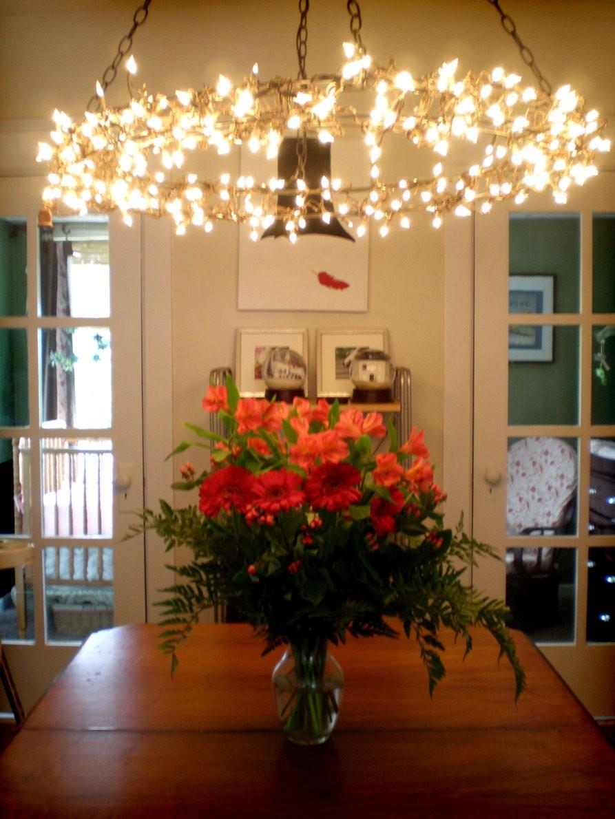 26 string light wreath