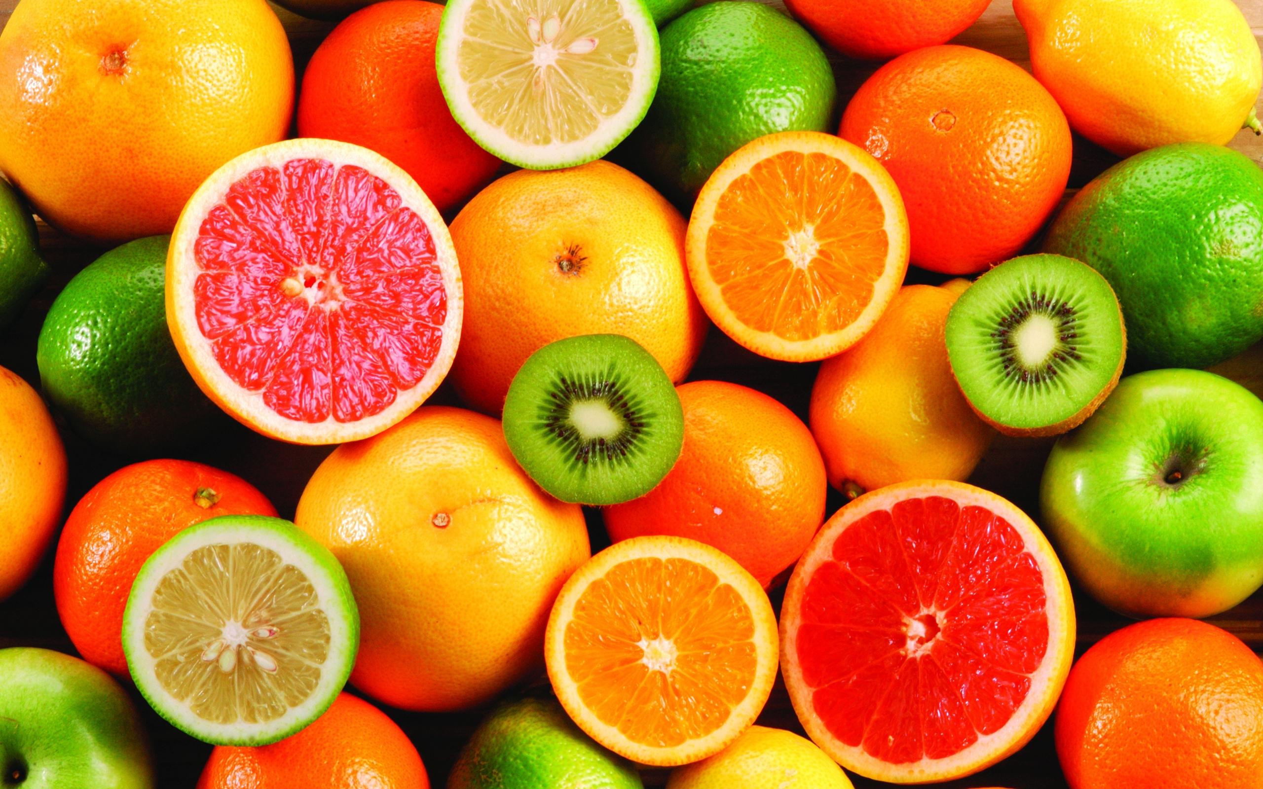 orange and kiwi