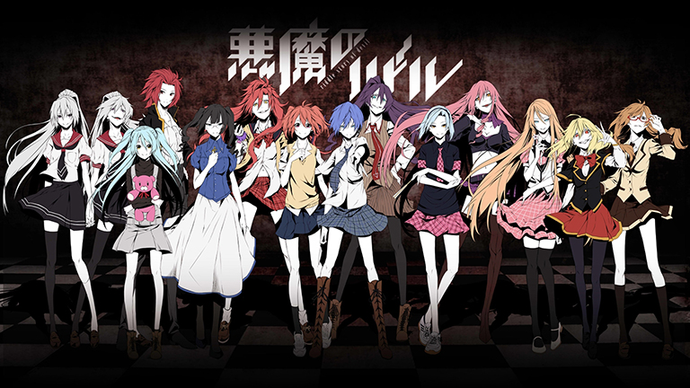 top 10 yuri anime lost bird akuma no riddle