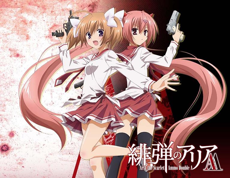 top 10 yuri anime lost bird hidan no aria aa