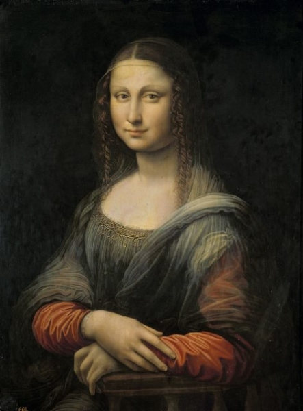 the prados mona lisa before its restoration with the black repaint of the landscape background 472x640