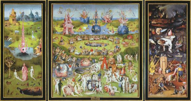 hieronymus bosch c 1500 the garden of earthly delights interior hi res museo nacional del prado wikimedia commons