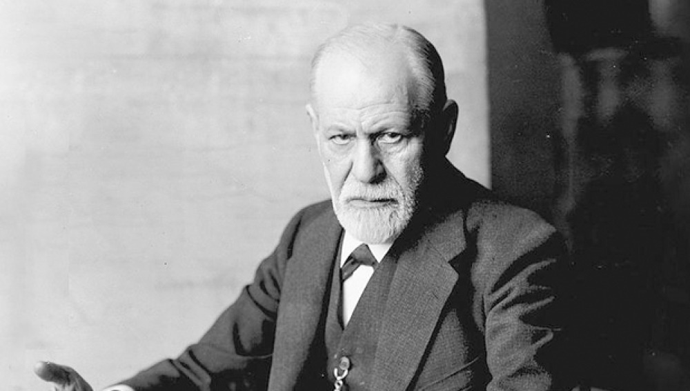 a file photo of sigmund freud