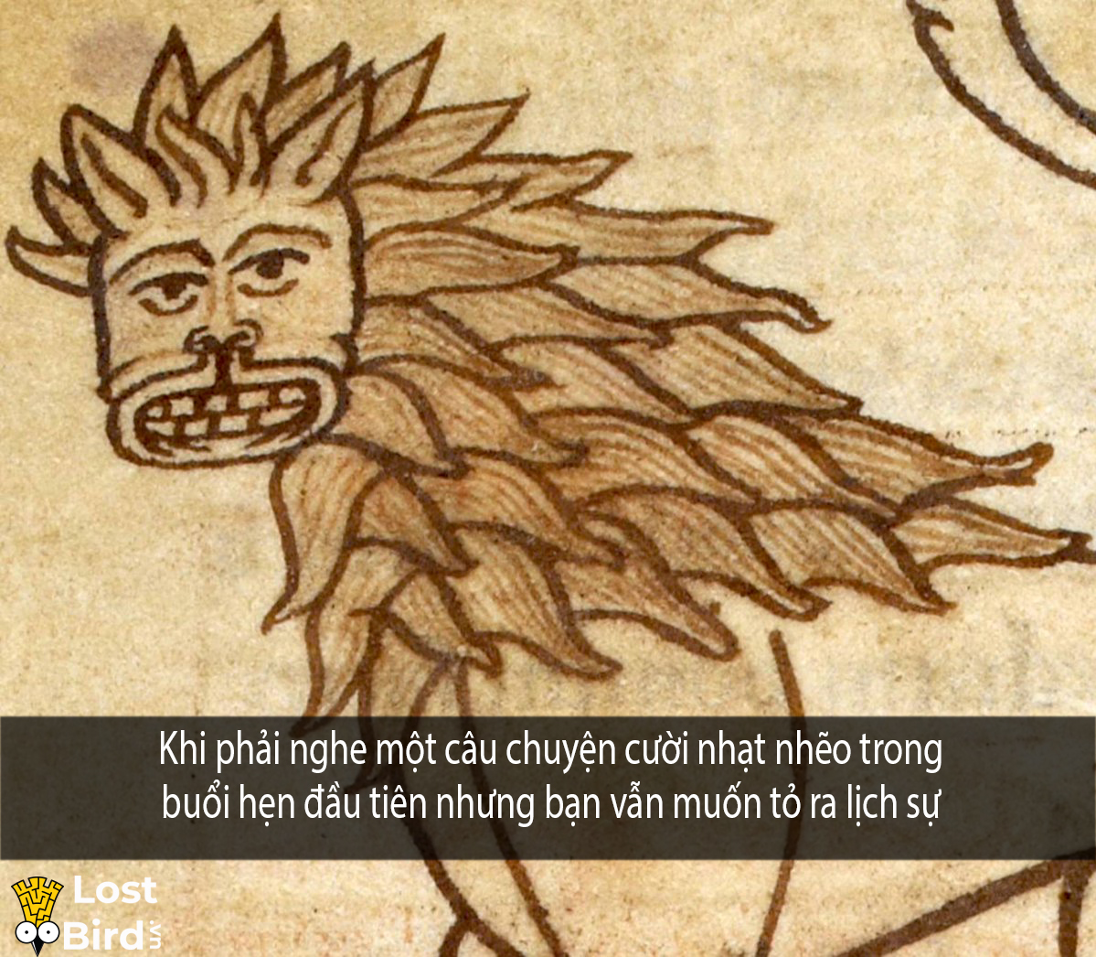 this lion is so excited that someone has more of a comment than a question