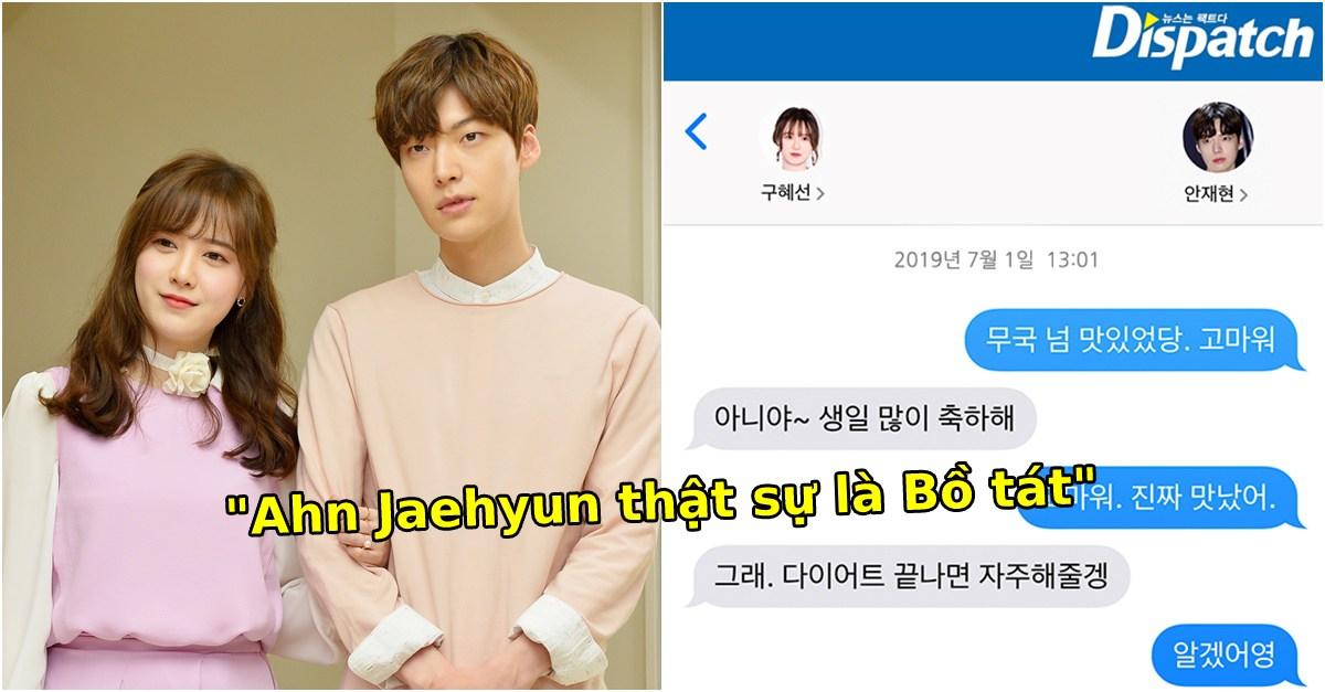 Dư luận Hàn 'đổi phe' khen Ahn Jae Hyun là 'Ahn Bồ Tát' sau đoạn tin nhắn đối đáp với Goo Hye Sun