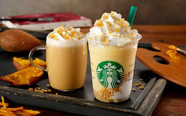 starbucks sweet potato frappuccino