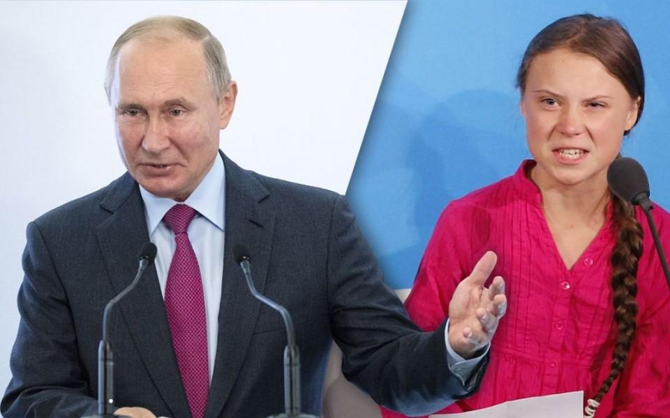 Tổng thống Nga Vladimir Putin: 'Greta đã bị lợi dụng'