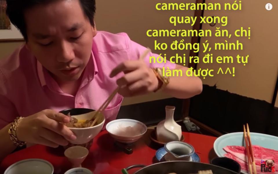 Tranh cãi clip mới của Khoa Pug: Giật tít 'phụ nữ Nhật quỳ khóc' nhưng lại cố tình dịch sai Vietsub đoạn hội thoại của cô Geisha gây hiểu nhầm