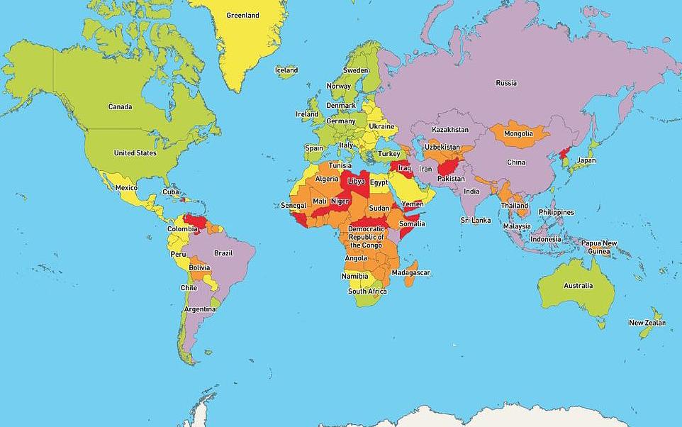 Việt Nam có mặt trong danh sách các quốc gia nguy hiểm nhất năm 2020