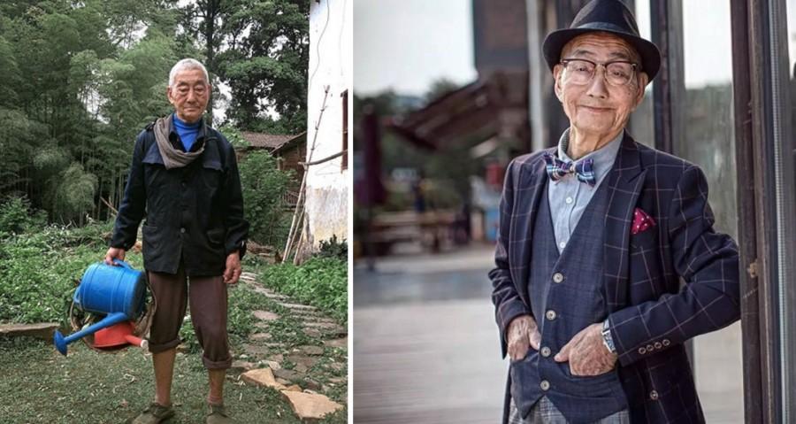 Cụ ông 85 tuổi 'chất chơi' qua bàn tay biến hoá của người cháu trai là nhiếp ảnh gia