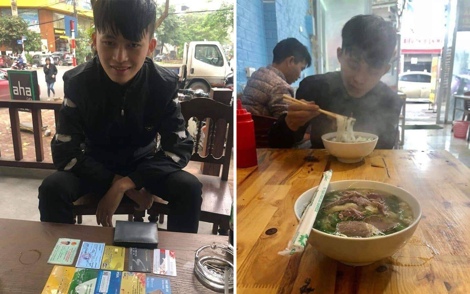 Cháo hành miễn phí (Kỳ 8): Chàng shipper người Mông trả ví cho người lạ, kiên quyết chỉ nhận một bát phở không nhận tiền
