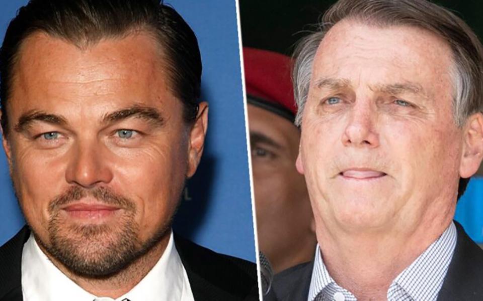 Tổng thống Brazil đổ lỗi Leonardo DiCaprio là người làm cháy rừng Amazon