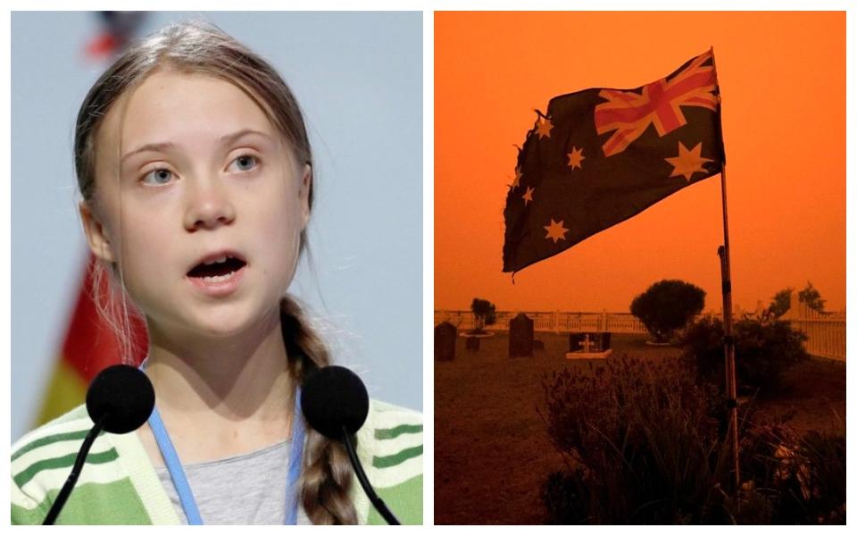 Greta Thunberg chỉ trích chính phủ Úc trong bối cảnh thảm họa cháy rừng mất kiểm soát