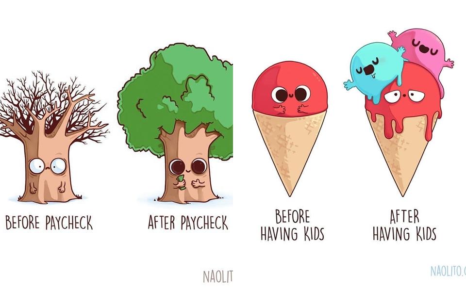 Bạn sẽ nhìn thấy cuộc sống của chính mình trong 21 bức tranh minh họa hài hước này