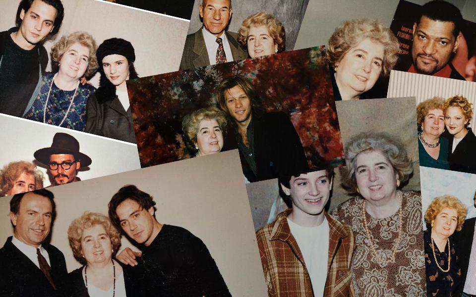 Đi vào cửa hàng đồ cũ, tình cờ tìm được quyển album chứa đầy ảnh người nổi tiếng chụp cùng một phụ nữ lạ mặt