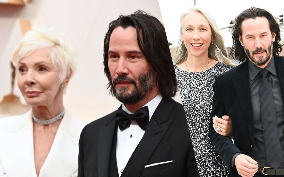 Oscars 2020: Cứ tưởng Keanu Reeves dẫn bạn gái mới đi, hoá ra là... mẹ