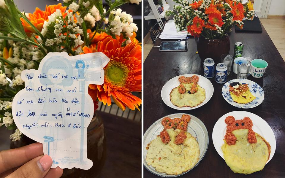 Cháo hành miễn phí (Kỳ 20): 'Con gái rượu' tổ chức Valentine cho bố mẹ, viết đơn mượn bếp còn làm cả tiệc linh đình