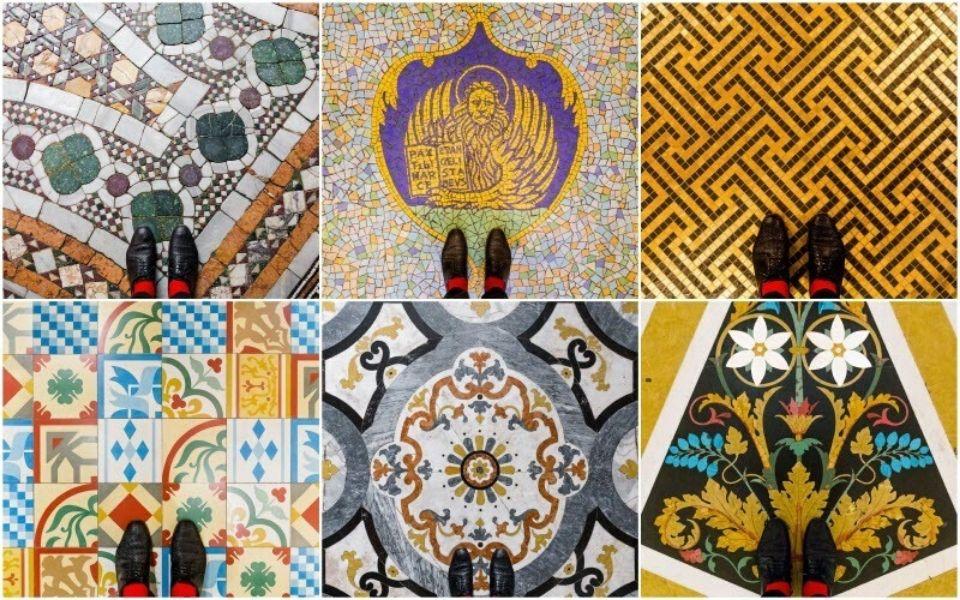 Đến Venice để được bước đi trên những sàn nhà khảm gạch mosaic lộng lẫy