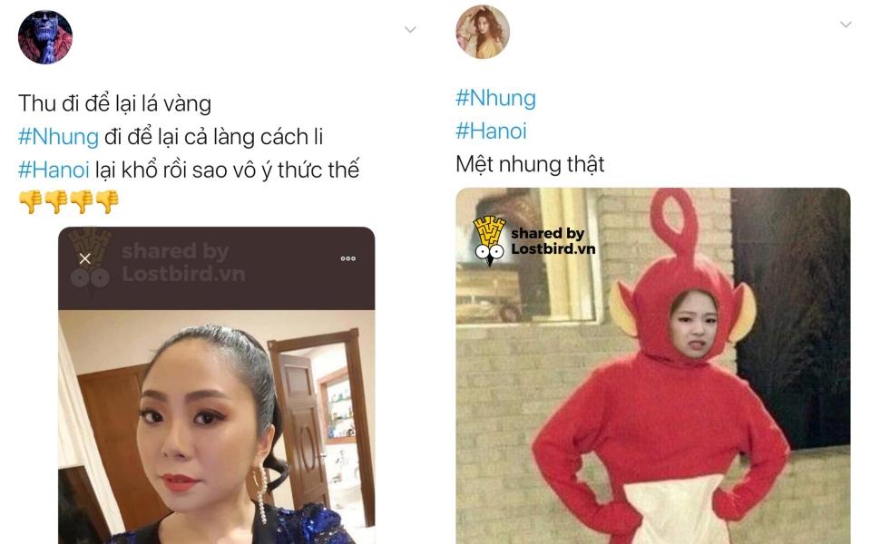 #Nhung ngồi chễm chệ trên Top 1 trending Twitter sau ca nhiễm thứ 17 ở Việt Nam