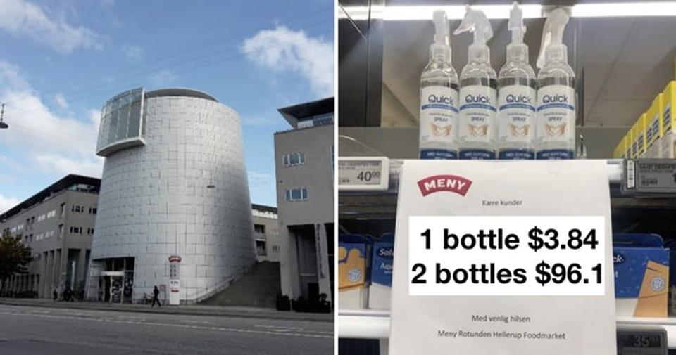 Covid-19: Siêu thị Đan Mạch áp dụng chiêu 'độc' khi quá nhiều người tích trữ dung dịch rửa tay