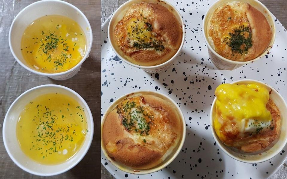 Hậu cà phê Dalgona, Dân Hàn lại có cơn sốt mới - bánh trứng béo ngậy làm tại nhà chỉ mất 17 phút