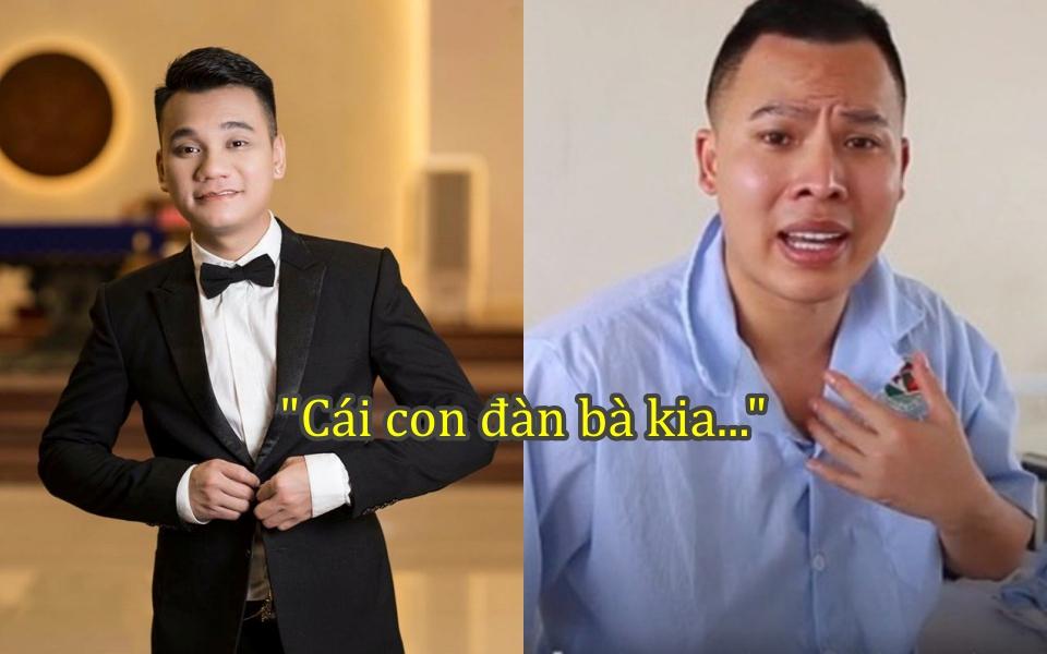 Khắc Việt ẩn ý 'chửi' Vũ Khắc Tiệp là 'con đàn bà' khi không chịu chủ động cách ly