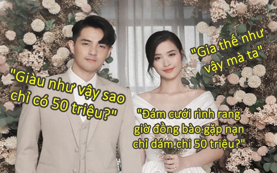 Tranh cãi xung quanh việc vợ chồng Đông Nhi-Ông Cao Thắng 'chỉ' ủng hộ 50 triệu cho đồng bào miền Tây