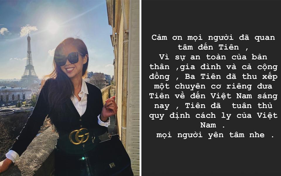Con gái tỷ phú Johnathan Hạnh Nguyễn được bố đưa về Việt Nam bằng chuyên cơ riêng để cách ly