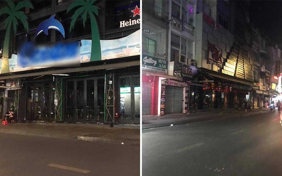 'Phố Tây' Bùi Viện vắng vẻ, tối om sau khi TP.HCM yêu cầu đóng cửa tất cả quán bar