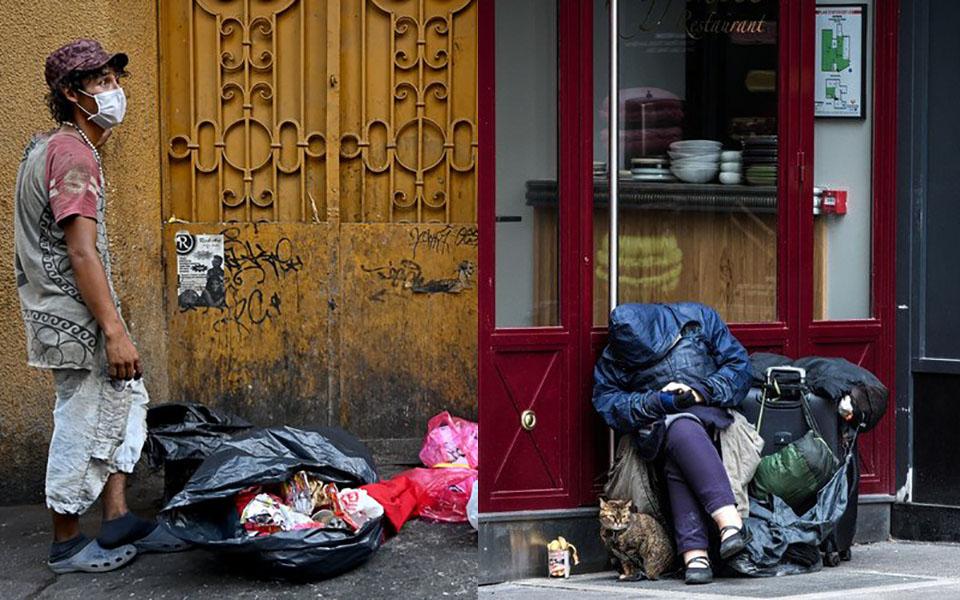 Khuyến khích ở nhà giữa đại dịch Covid-19, nhưng người vô gia cư thì sao?
