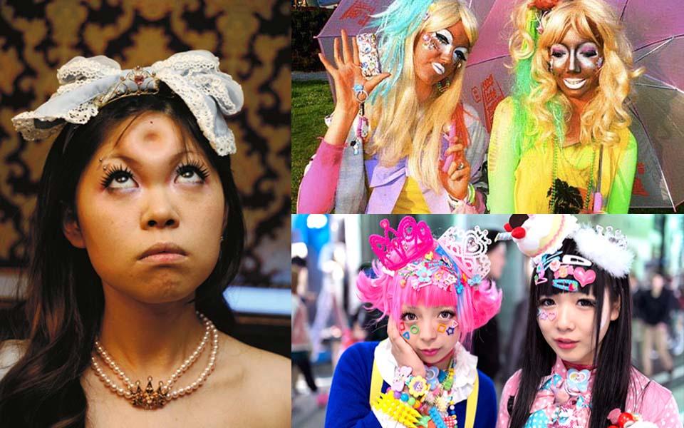 Tuyển tập những xu hướng làm đẹp độc và dị của người Nhật