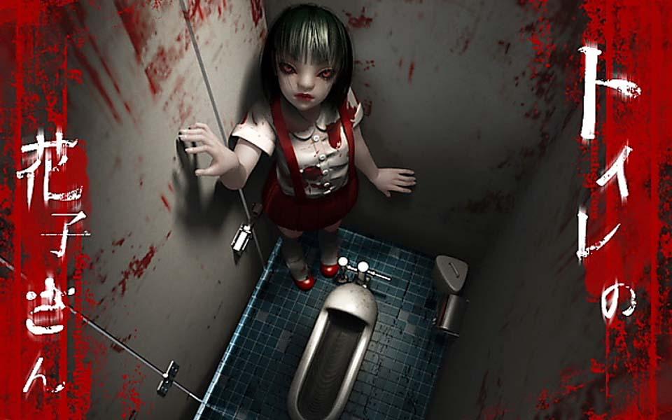Hanakosan - Bé gái mặc váy đỏ cư ngụ trong... nhà vệ sinh