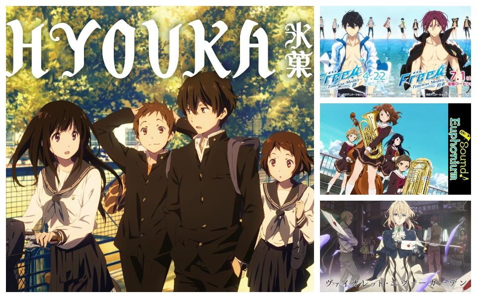 BXH những anime được yêu thích nhất mọi thời đại của KyoAni