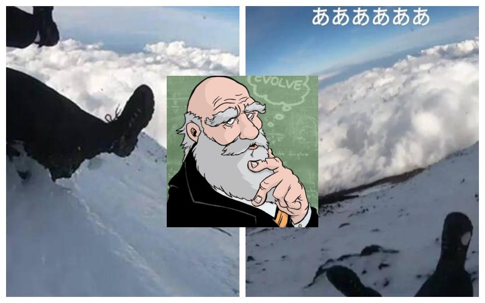 Streamer leo núi Phú Sĩ trượt chân ngã chết bị truy tặng giải thưởng 'đỉnh cao của sự ngu ngốc'