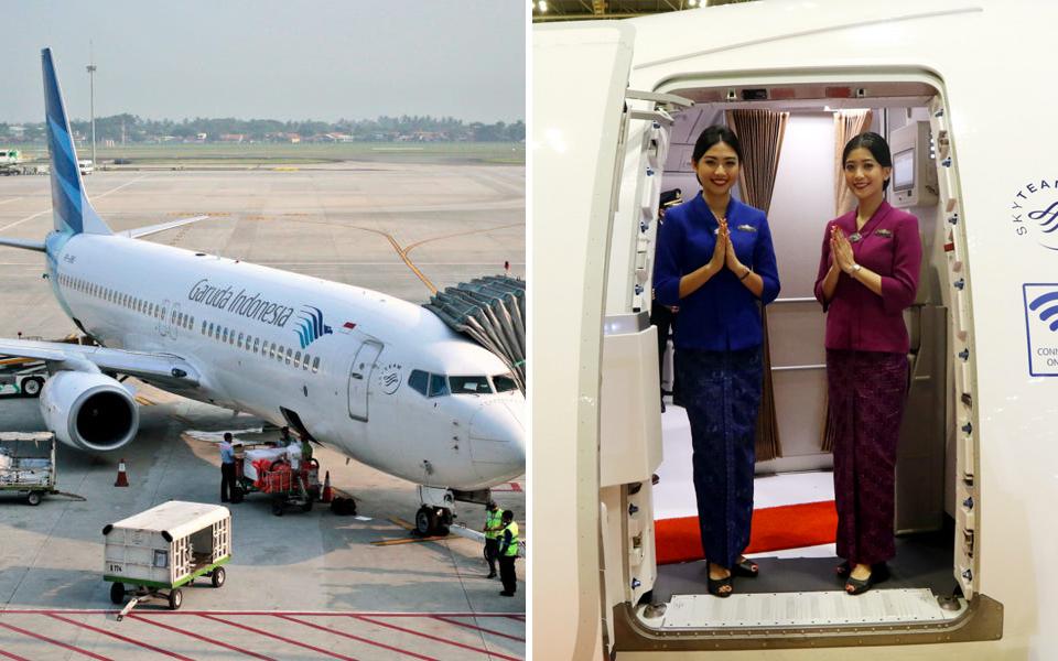 Hãng hàng không Indonesia ngừng cho phi hành đoàn đeo khẩu trang vì khách phàn nàn không thấy tiếp viên cười