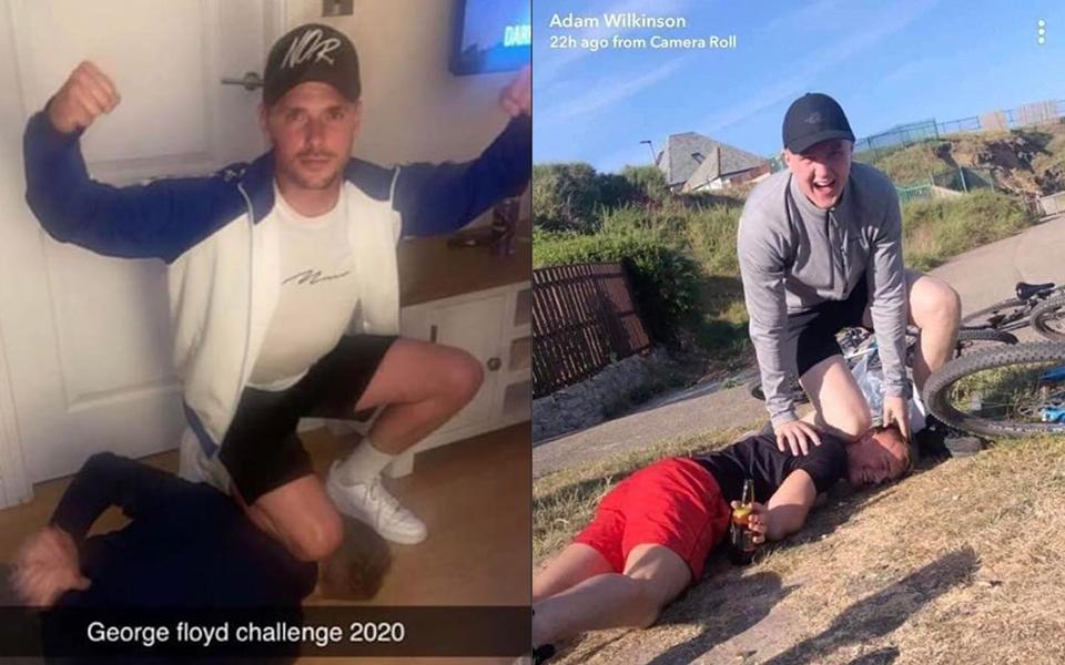 Cư dân mạng phẫn nộ trước thử thách George Floyd Challenge