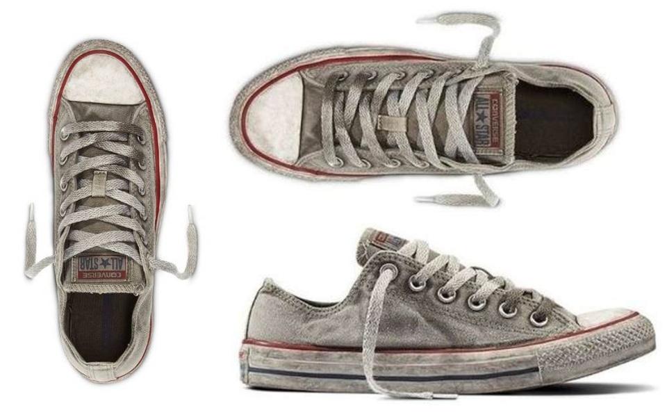 Converse ra mắt mẫu giày trông bẩn như đi một năm không giặt mà giá thì rẻ gì cho cam
