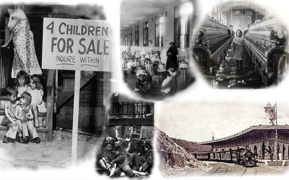 Hiện thực phũ phàng thế kỷ 19: Trẻ mồ côi bị đem bán như hàng hóa