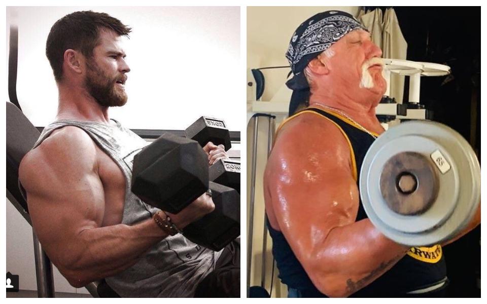 Chris Hemsworth luyện tập vất vả để vào vai đô vật huyền thoại trong phim mới của Netflix