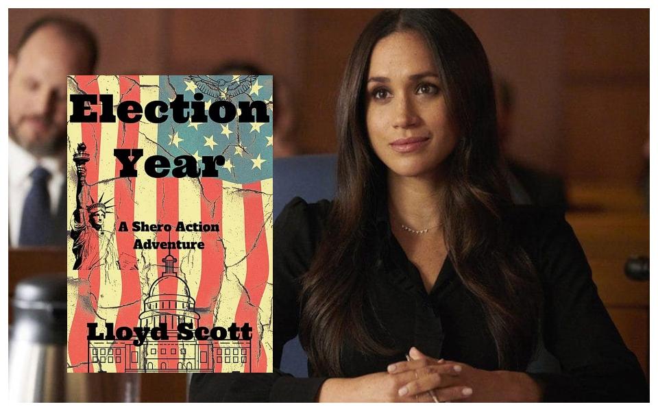 Meghan Markle trở thành nhà sản xuất phim chuyển thể tiểu thuyết liên quan đến bầu cử tổng thống Mỹ