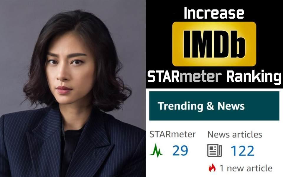 IMDb: Ngô Thanh Vân vượt 368 hạng STARmeter trong một tuần, xếp vị trí thứ 29 sau khi 'The Old Guard' ra mắt