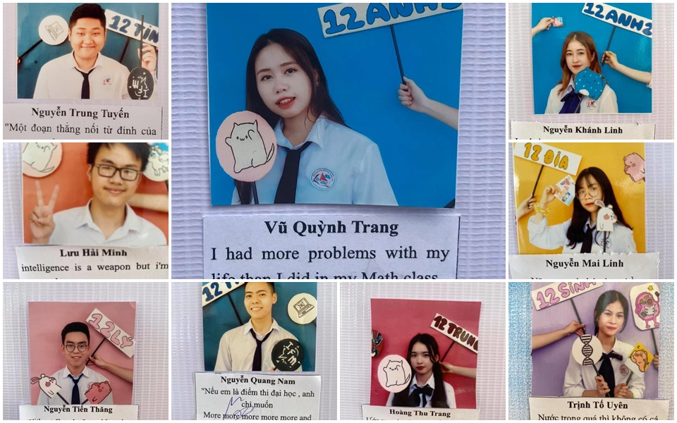 Bộ ảnh kỷ yếu của học sinh cuối cấp tại Hạ Long gây bão mạng xã hội vì những câu quote cực chất